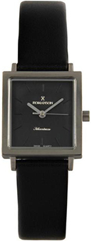 Наручные женские часы Romanson Dl2133slw(Bk) (Коллекция Romanson Titanium)