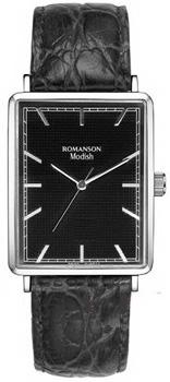 Наручные женские часы Romanson Dl5163slw(Bk) (Коллекция Romanson Modish)