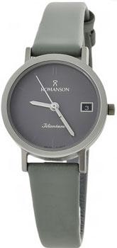 Наручные женские часы Romanson Dl9782slw(Gr) (Коллекция Romanson Titanium)