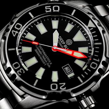 Наручные мужские часы Deep Blue Dm3kssblk