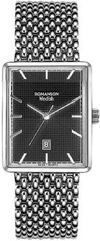 Наручные женские часы Romanson Dm5163lw(Bk) (Коллекция Romanson Modish)