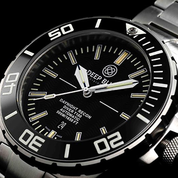Наручные мужские часы Deep Blue Dnr65blk