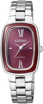 Наручные женские часы Citizen Em0006-53w (Коллекция Citizen Eco-Drive)