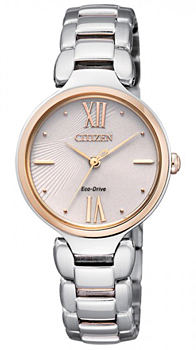 Наручные женские часы Citizen Em0024-51w (Коллекция Citizen Eco-Drive)