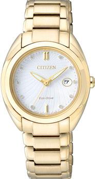 Наручные женские часы Citizen Em0313-54a (Коллекция Citizen Eco-Drive)