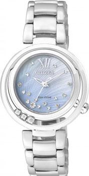 Наручные женские часы Citizen Em0321-56d (Коллекция Citizen Eco-Drive)