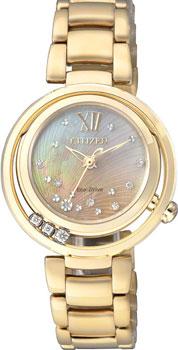 Наручные женские часы Citizen Em0325-55p (Коллекция Citizen Eco-Drive)