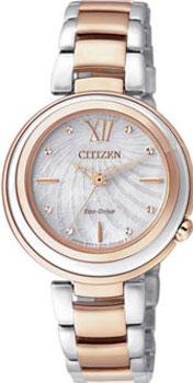 Наручные женские часы Citizen Em0335-51d (Коллекция Citizen Eco-Drive)