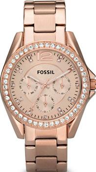 Наручные женские часы Fossil Es2811 (Коллекция Fossil Riley)