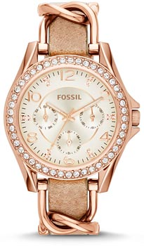 Наручные женские часы Fossil Es3466 (Коллекция Fossil Riley)