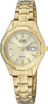 Наручные женские часы Citizen Ew3142-56p (Коллекция Citizen Eco-Drive)