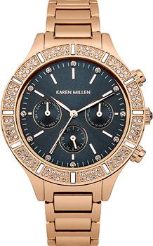 Наручные женские часы Karen Millen Km103rgm (Коллекция Karen Millen Aw-4)