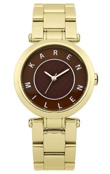 Наручные женские часы Karen Millen Km110gm (Коллекция Karen Millen Classic)