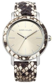 Наручные женские часы Karen Millen Km137csp (Коллекция Karen Millen Snake)