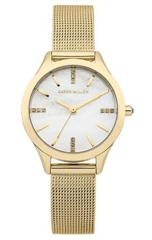 Наручные женские часы Karen Millen Km140gm (Коллекция Karen Millen Classic)