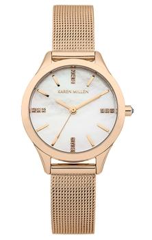 Наручные женские часы Karen Millen Km140rm (Коллекция Karen Millen Classic)