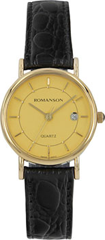 Наручные женские часы Romanson Nl1120slg(Gd) (Коллекция Romanson Phil)