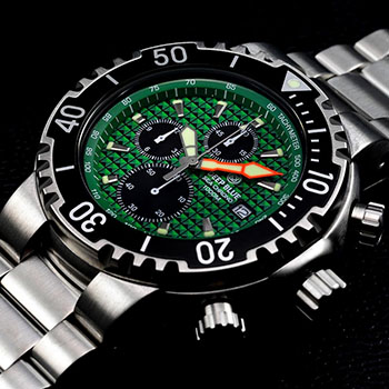 Наручные мужские часы Deep Blue Psc1kgrn
