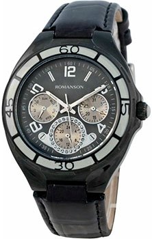 Наручные женские часы Romanson Rl0357uub(Bk) (Коллекция Romanson Trofish)