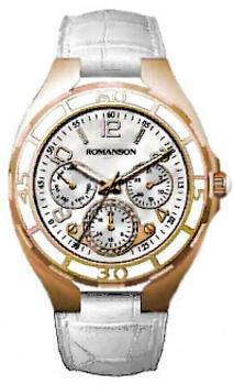Наручные женские часы Romanson Rl0357uug(Wh) (Коллекция Romanson Giselle)