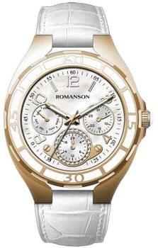 Наручные женские часы Romanson Rl0357uur(Wh) (Коллекция Romanson Trofish)