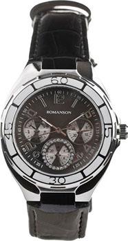 Наручные женские часы Romanson Rl0357uuw(Bk) (Коллекция Romanson Trofish)