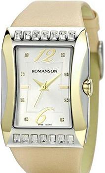 Наручные женские часы Romanson Rl0358qlc(Wh) (Коллекция Romanson Lady Jewelry)