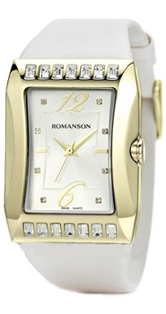 Наручные женские часы Romanson Rl0358qlg(Wh) (Коллекция Romanson Lady Jewelry)