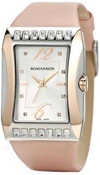 Наручные женские часы Romanson Rl0358qlj(Wh) (Коллекция Romanson Lady Jewelry)