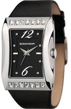 Наручные женские часы Romanson Rl0358qlw(Bk) (Коллекция Romanson Lady Jewelry)