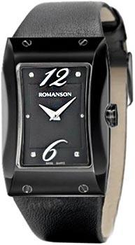 Наручные женские часы Romanson Rl0359lb(Bk) (Коллекция Romanson Giselle)