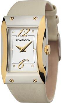Наручные женские часы Romanson Rl0359lj(Wh) (Коллекция Romanson Giselle)