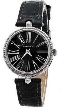 Наручные женские часы Romanson Rl0362lw(Bk) (Коллекция Romanson Trofish)