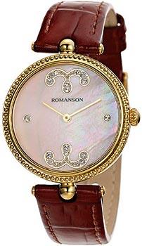 Наручные женские часы Romanson Rl0363lg(Pink) (Коллекция Romanson Trofish)