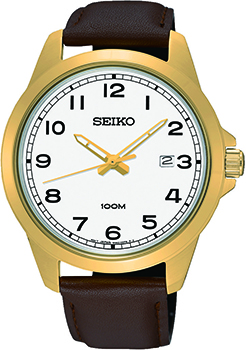 Наручные мужские часы Seiko Sur160p1 (Коллекция Seiko Promo)