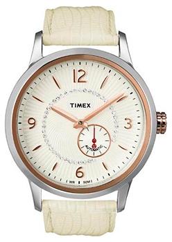 Наручные женские часы Timex T2n352 (Коллекция Timex Automatic)