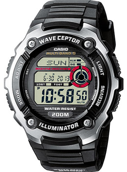 Наручные мужские часы Casio Wv-200e-1a (Коллекция Casio Wave Ceptor)