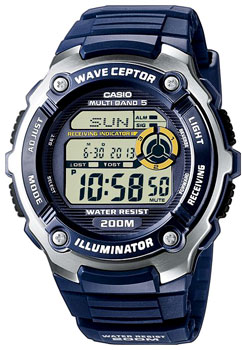 Наручные мужские часы Casio Wv-200e-2a (Коллекция Casio Wave Ceptor)