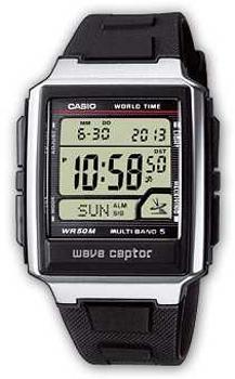 Наручные мужские часы Casio Wv-59e-1a (Коллекция Casio Wave Ceptor)