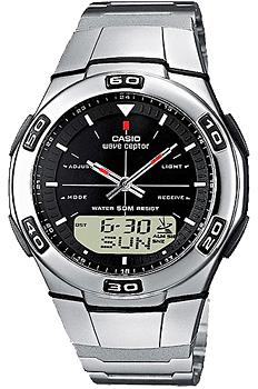 Наручные мужские часы Casio Wva-105hde-1a (Коллекция Casio Wave Ceptor)