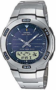 Наручные мужские часы Casio Wva-105hde-2a (Коллекция Casio Wave Ceptor)