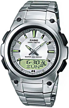 Наручные мужские часы Casio Wva-109hde-7a (Коллекция Casio Wave Ceptor)