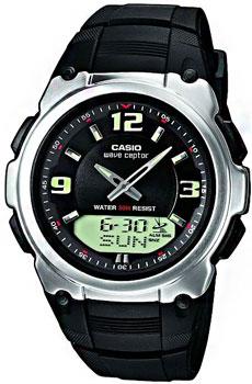 Наручные мужские часы Casio Wva-109he-1b (Коллекция Casio Wave Ceptor)