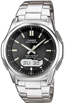 Наручные мужские часы Casio Wva-M630td-1a (Коллекция Casio Wave Ceptor)