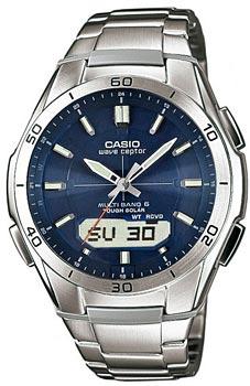 Наручные мужские часы Casio Wva-M640d-2a (Коллекция Casio Wave Ceptor)