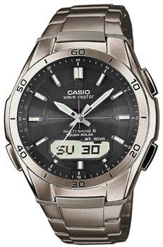 Наручные мужские часы Casio Wva-M640td-1a (Коллекция Casio Wave Ceptor)